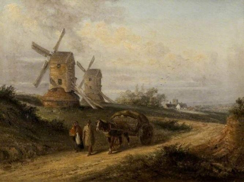 Country Scene with Two Windmills.jpg