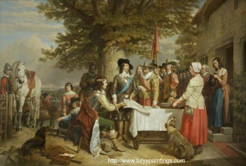 Eve of the Battle of Edge Hill 1642.jpg