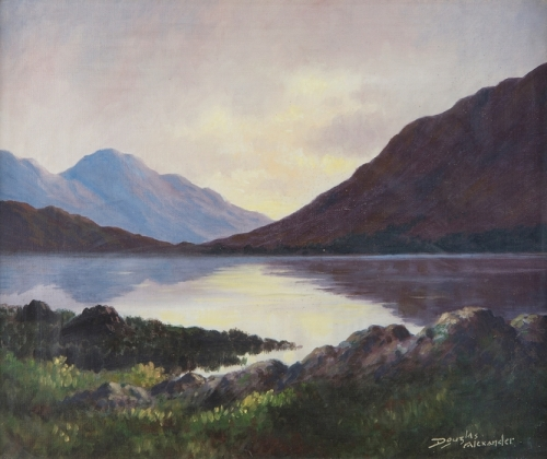 Evening Reflections on Dhu Lough Connemara.jpg