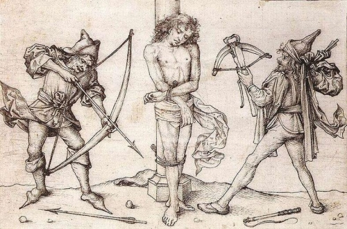 St Sebastian with Archers.jpg
