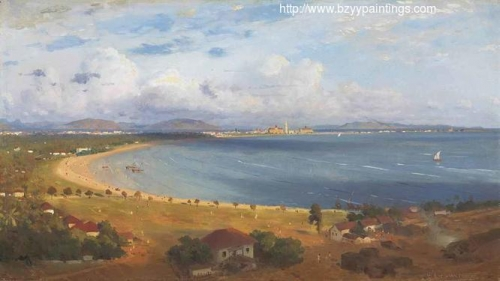 The Back Bay at Bombay from Malabar Hill.jpg