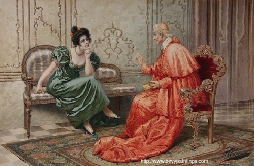 Cardinal and Lady Gossiping.jpg