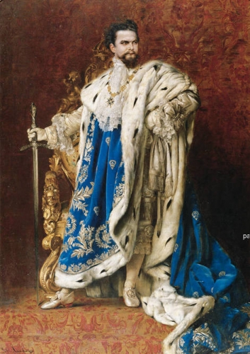 Portrait of Ludwig II of Bavaria as the Grand Master of the Order of the Knights of St George.jpg
