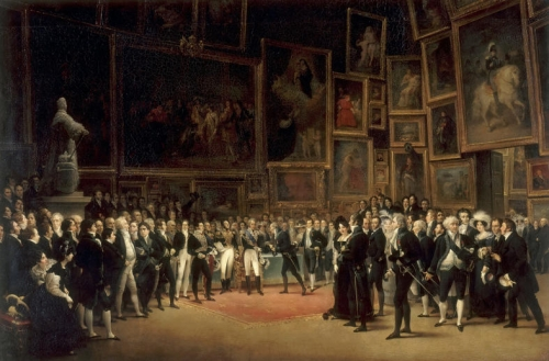 Charles X Bestowing Honors on the Artists of the Salon of 1824.jpg