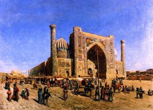 The Sher-Dor Mosque in Samarkand.jpg