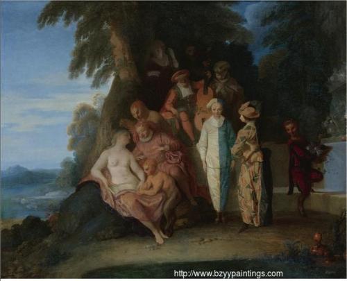 A Scene Inspired by Commedia dellarte.jpg