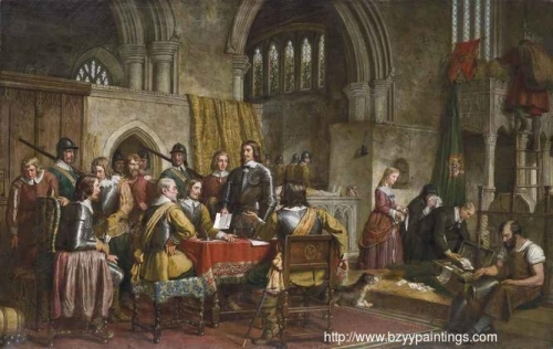 The Surrender of Arundel Castle to Sir William Waller January 6th 1643.jpg