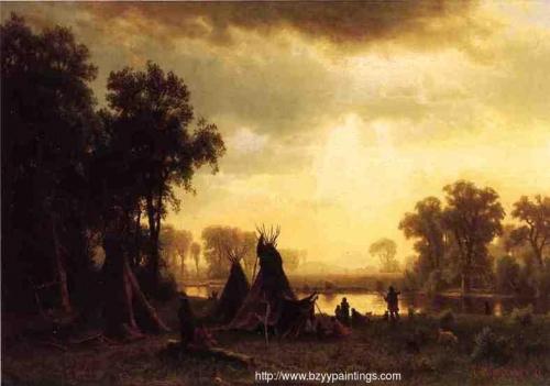 An Indian Encampment.jpg