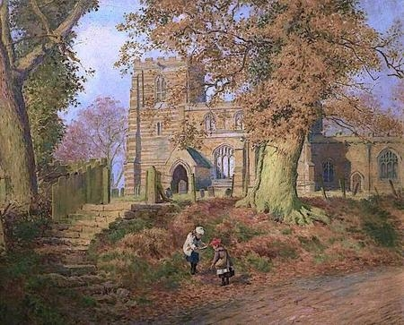 November Sunshine Lowesby Church Leicestershire.jpg