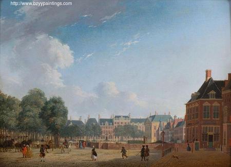 The Korte Vijverberg in The Hague viewed from the Plaats.jpg