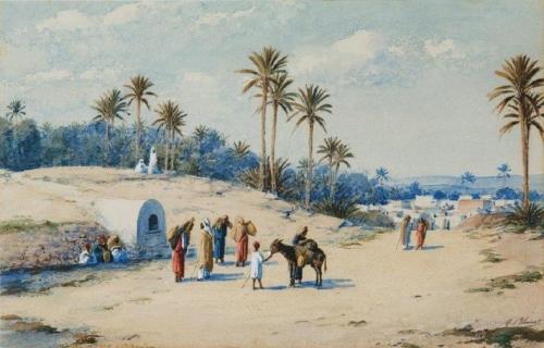 In the Oasis of Gafsa Dans loasis de Gafsa).jpg