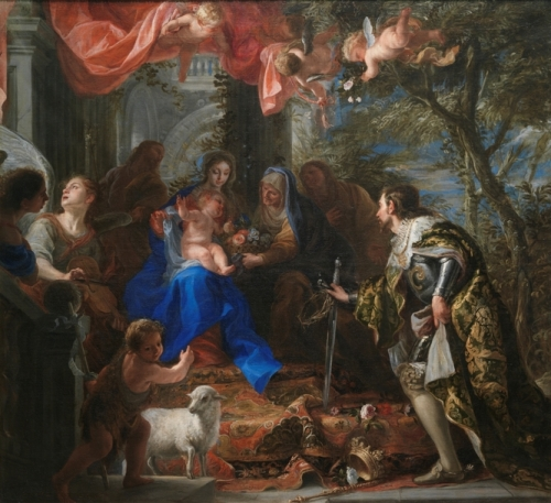 The Virgin and Child adored by Saint Louis King of France.jpg