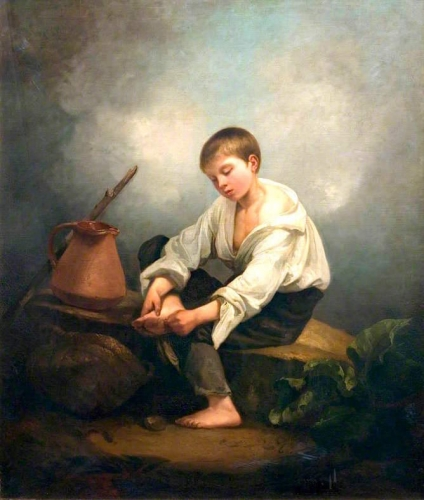 A Boy Extracting a Thorn from His Foot.jpg