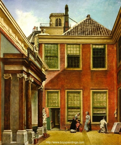 The Courtyard of Teylers Foundation House Haarlem.jpg