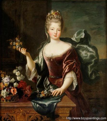 Portrait of Françoise Marie de Bourbon Mademoiselle Blois duchesse dOrléans.jpg
