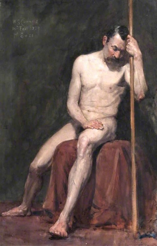Seated Male Nude with Staff.jpg