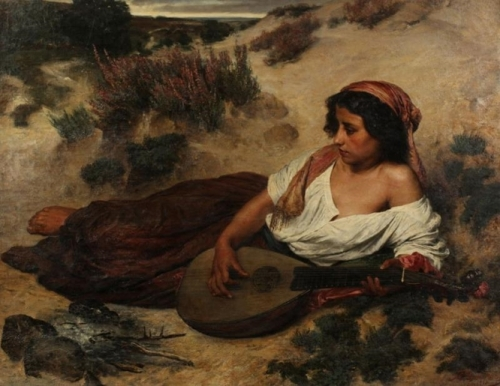 Gypsy woman with lute.jpg