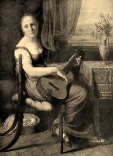 Portrait of Carolina von Humboldt mit Gitarre.jpg