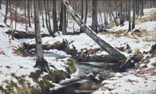 Stream in the Winter Forest.jpg
