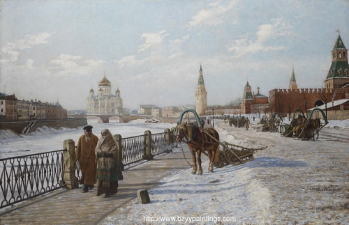 View of the Moscow Kremlin and the Church of Christ the Saviour.jpg