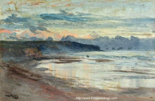 A Coastal Scene at Sunset.jpg