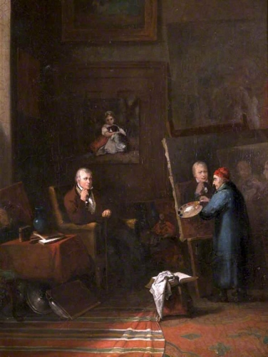 Sir Walter Scott Being Painted by James Northcote in His Studio.jpg