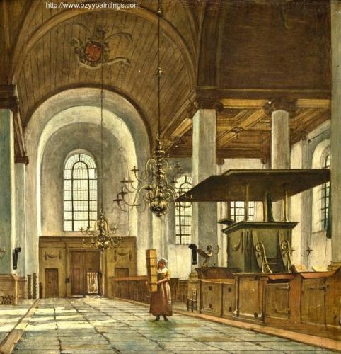 Interior of the Nieuwe Kerk in Haarlem.jpg