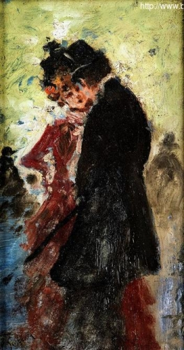 Young gentleman with lady in red.jpg