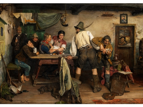 The Hunter in the Tavern.jpg