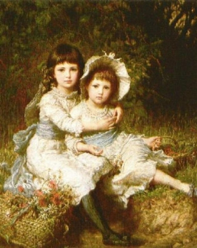 Cecile And Adela Children Of George Drummond.jpg