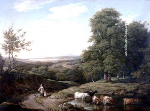 Landscape with Wooded Scene and Cattle.jpg