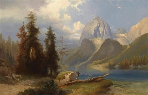 Hunter by Mountain Lake.jpg