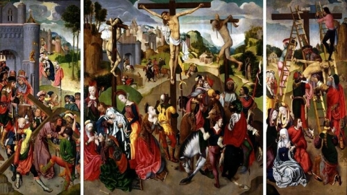 Triptych with the Crucifixion Carrying of the Cross and the Deposition.jpg