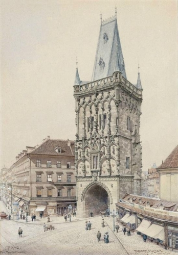 Prague the Powder Tower.jpg
