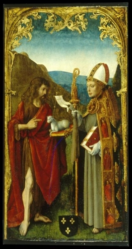 Saint John the Baptist and a Bishop Saint.jpg