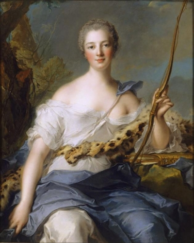 Jeanne-Antoinette Poisson Marquise de Pompadour as Diana the Huntress.jpg