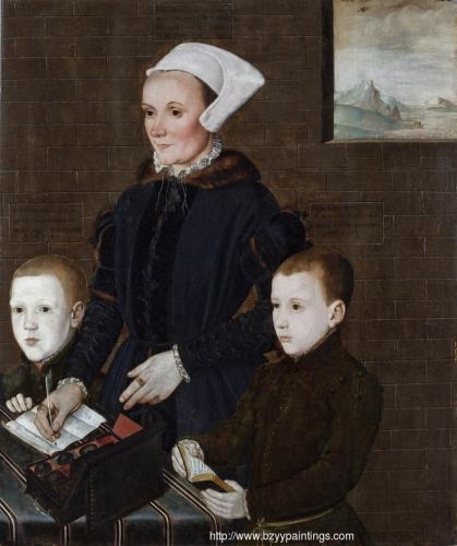 Alice Barnham and Her Sons Martin and Steven.jpg