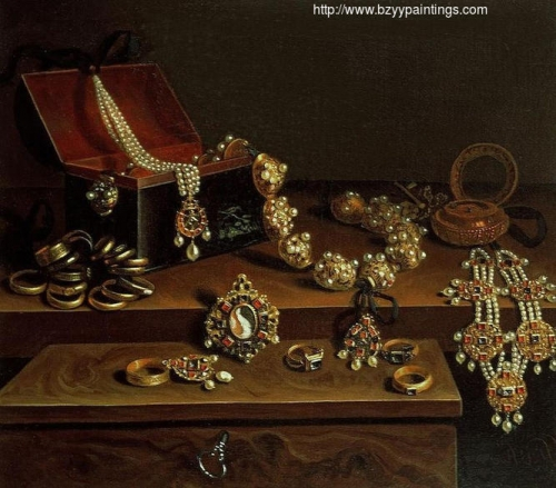 Casket of Jewels on a Table.jpg