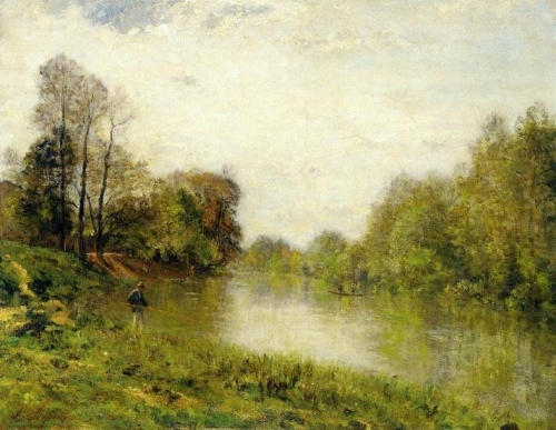 The Marne at Charenton A Fisherman.jpg