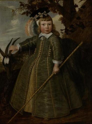 Portrait of a Boy with a Goat Portret van een jongetje met een bok).jpg