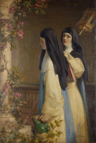 Two nuns in a cloister.jpg