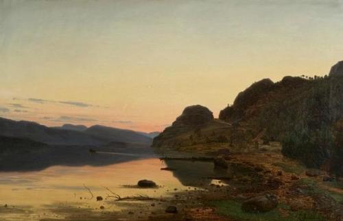 Evening Mood Skogsfjord Mandal.jpg