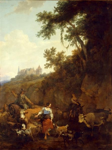 Landscape with Bentheim Castle in Background.jpg