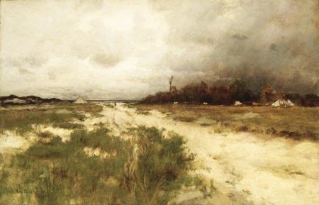 Coast Landscape Dunes and Windmill.jpg