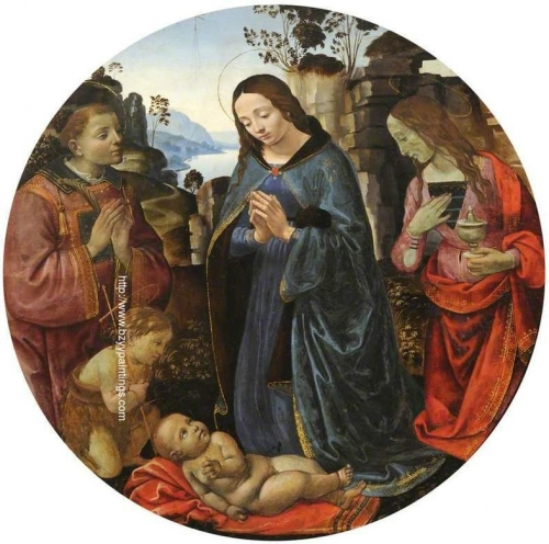 The Virgin Adoring the Child with Saints Lawrence and Mary Magdalen and the Infant Saint John.jpg